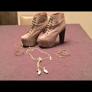 "Jeffrey Campbell ""Lita"" Booties"
